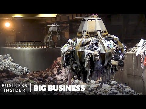 What Happens To NYC's 3.2 Million Tons Of Trash | Big Business
