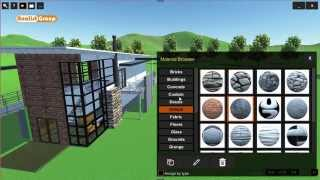 OneRay-RT: Materials Application to Objects