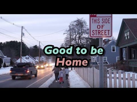 VLOG| I WENT HOME! Visiting Maine during the holidays| Rakiya Mohamed