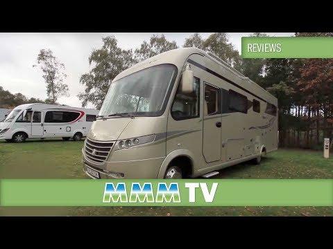 MMM TV motorhome review: Luxury Motorhome of the Year 2014 - Frankia Platinum Edition