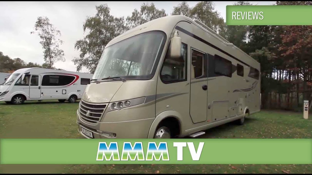 Amazing Luxury Motorhome Of The Year 2014  Frankia Platinum Edition Motorhome