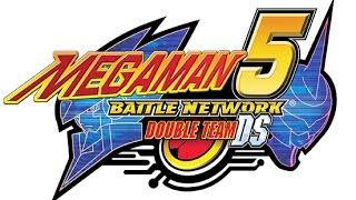 Megaman Battle Network 5 Double Team DS: Shooting Enemy