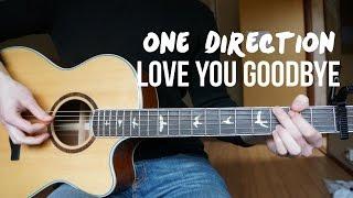 One Direction - Love You Goodbye - Guitar Cover   Mattias Krantz