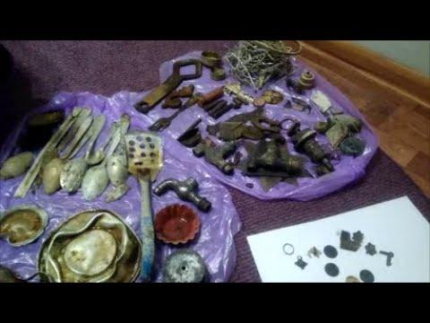 Сколько всего-ого-го :Монеты,кольца, серебро!Ура!!!