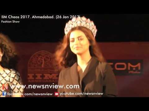 FBB Femina Miss India World Priyadarshini Chatterjee | Ramp Walk IIM Chaos