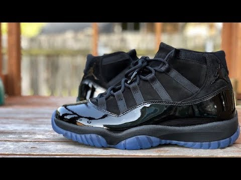 """fc008bb48143 Air Jordan 11 """"Cap and Gown"""" """"Prom Night"""" review - YouTube"""