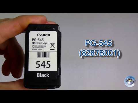 How to Refill Canon PG-545 (8287B001) Black Ink Cartridge
