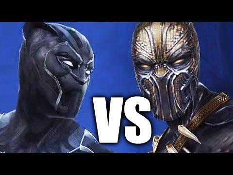 MARVEL: Future Fight - Erik Killmonger VS Black Panther Boss Battle