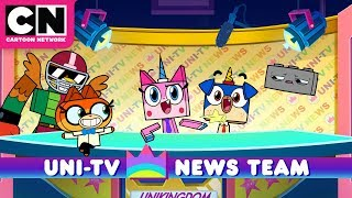Unikitty| Uni-TV News Team | Cartoon Network