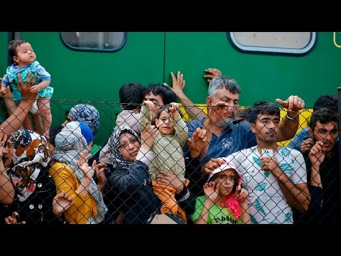 Latest from train station in Hungary