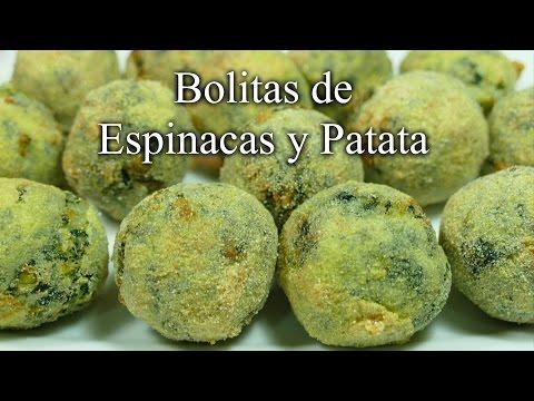 Bolitas de Espinacas y Patata