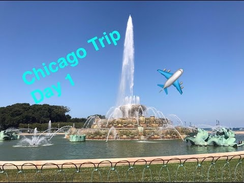 Chicago Trip 2017 Vlog - Day 1 - Traveling to Chicago + White Sox Game