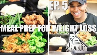 Meal Prep For Weight Loss | BBQ Chicken and Cajun Shrimp