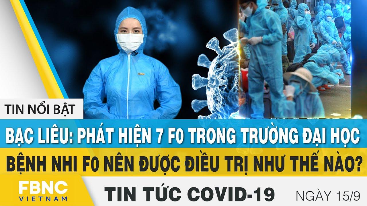 Download Tin tức Covid-19 mới nhất hôm nay 15/9 | Dich Virus Corona Việt Nam hôm nay | FBNC