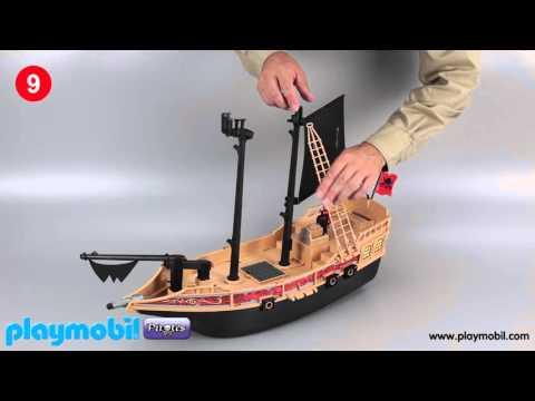 Download Playmobil Instruction Pirate Raiders Ship 6678