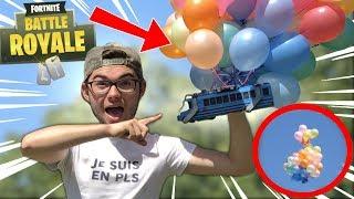 ENVOYER LE BUS DE FORTNITE 3D DANS L'ESPACE !