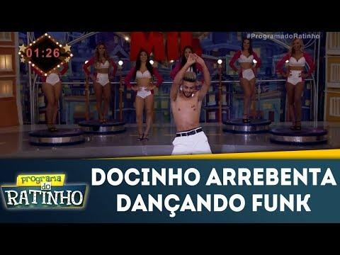 Docinho Arrebenta Dançando Funk No Dez Ou Mil | Programa Do Ratinho (29/01/18)