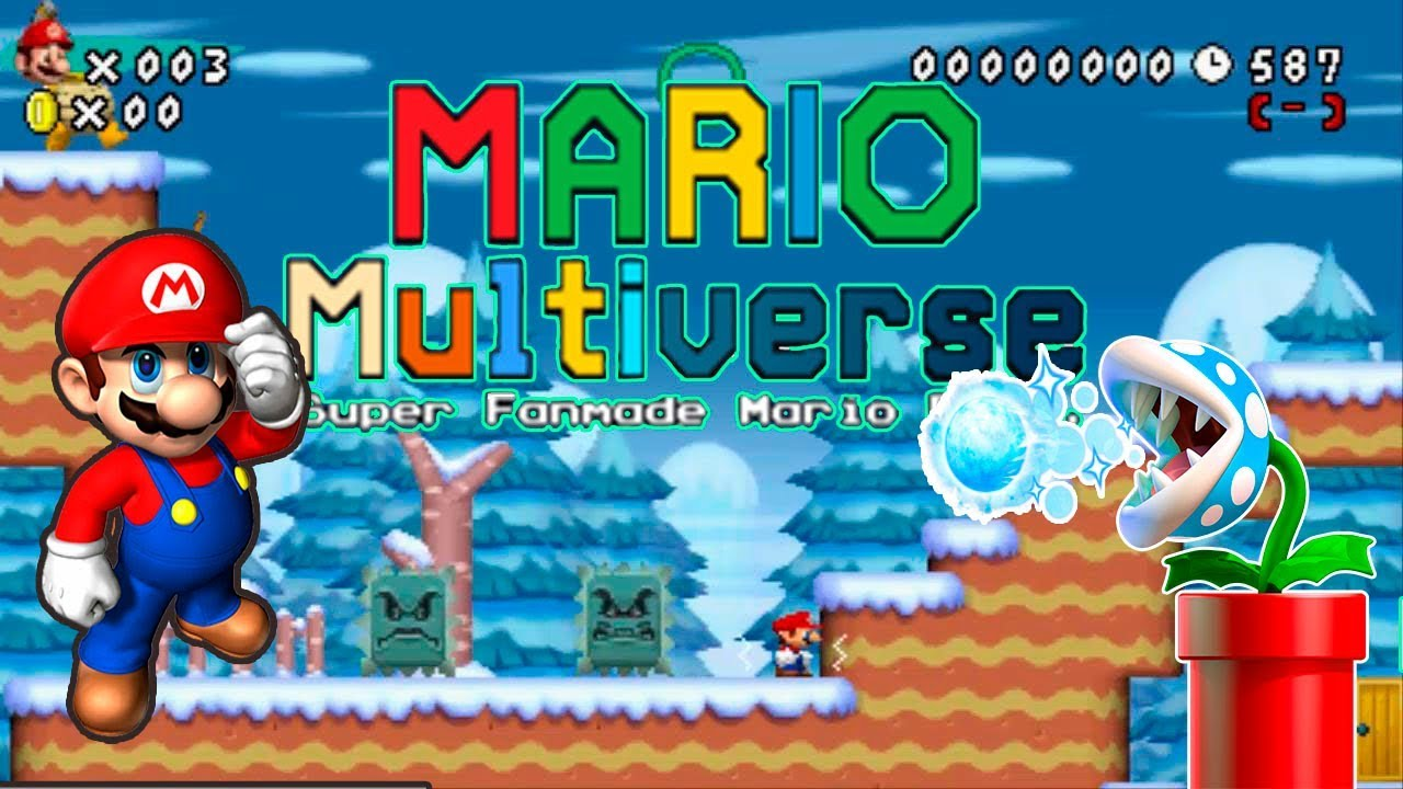 Mario Multiverse V5 6 0  | Custom Level Once Upon A Time Mario | SFMB |  Fangame
