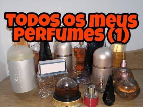 PERFUMES IMPORTADOS - MOSTRANDO POR PARTES TODA MINHA COLEÇÃO (1)