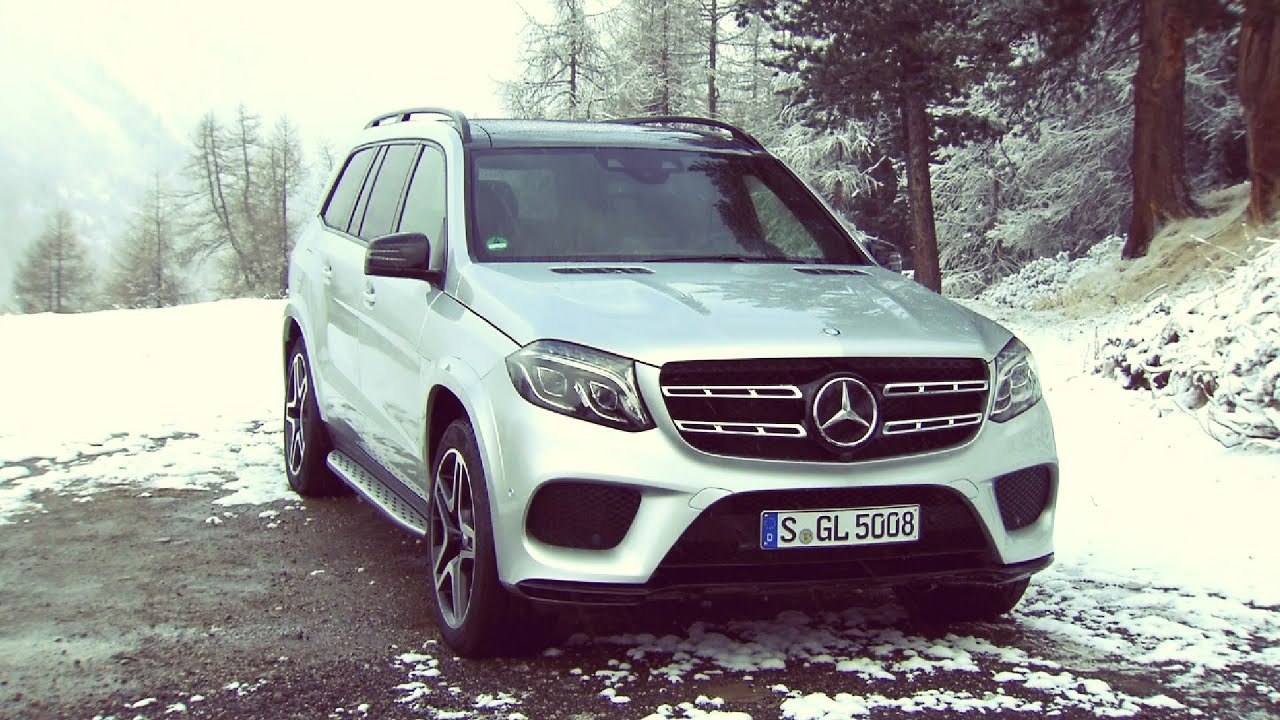 2016 mercedes benz gls 500 4matic iridium silver youtube for Mercedes benz r 500