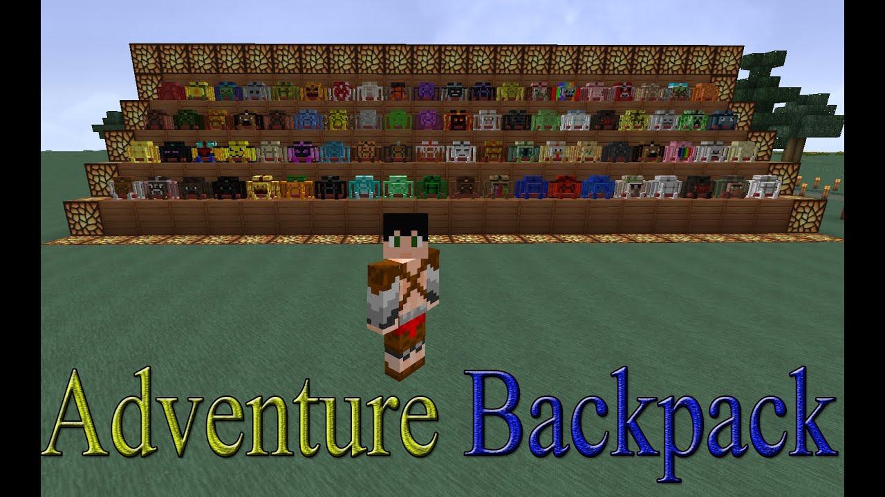 Adventure Backpack Mod para Minecraft 1.7.10 - YouTube