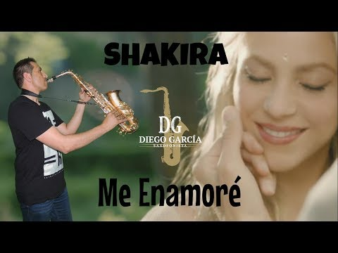 Me Enamore - Shakira, Sax Cover By Diego García Saxofonista.