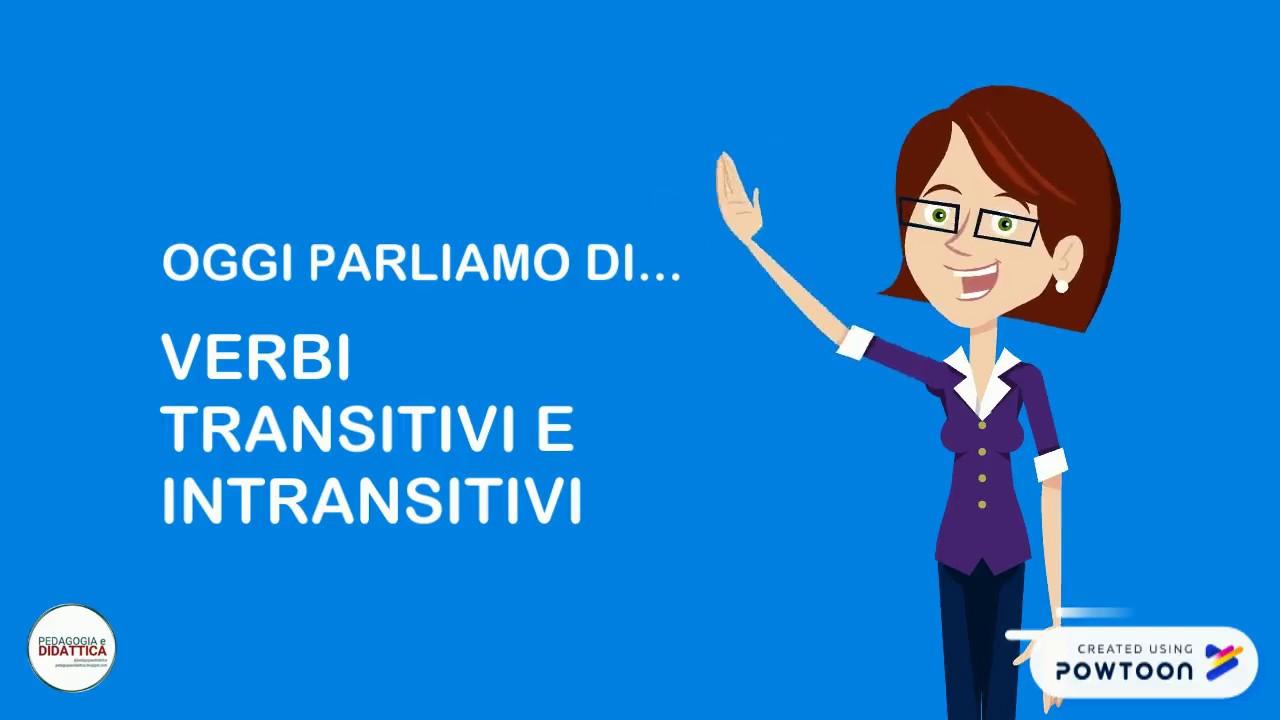 Quali sono i verbi transitivi?
