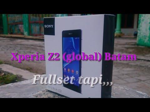 Xperia Z2 Global Batam, Fullset tapi,,,