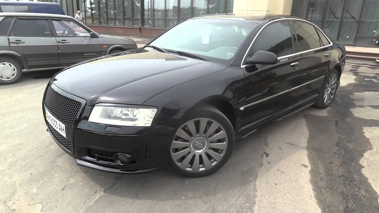 audi a8 black borman tuning d3 d4 v12 type youtube. Black Bedroom Furniture Sets. Home Design Ideas