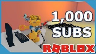 ROBLOX FAME SIMULATOR 1,000 FOLLOWERS!!