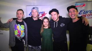 Twenty One Pilots interview by Europa Plus 22.10.2016 Moscow, Russia