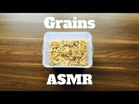 ASMR | Amazing Grains: Tapping, Scratching and Stiring