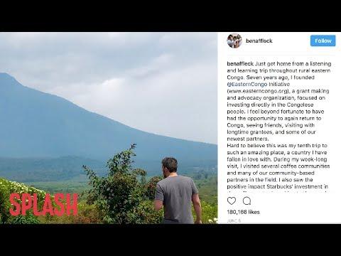 Ben Affleck Compliments Jennifer Garner and Daughter in Humanitarian Speech | Splash News TV