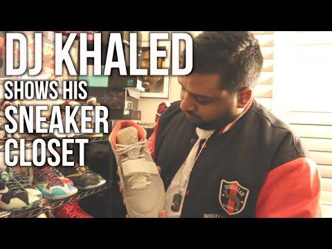 Sneak Peek: DJ Khaled Shows His Sneaker Closet Part 2