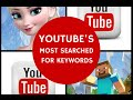TOP MOST SEARCHED KEYWORDS ON YOUTUBE | Most Search words on Youtube 2014