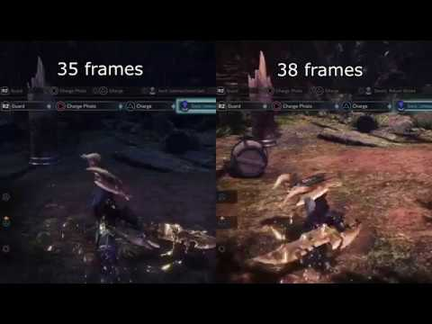 [Monster Hunter World] Focus 3 effect on Charge Blade button-hold attacks