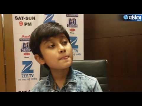 SAREGAMAPA LIL SINGER  SHREYAN BHATTACHARYA INTERVIEW AT BHOPAL MP