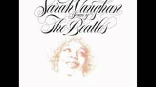 Watch Sarah Vaughan I Want You shes So Heavy video