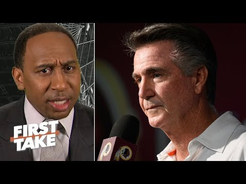 'That just reeks of ignorance!' - Stephen A. sounds off on the Redskins' culture issue | First Take