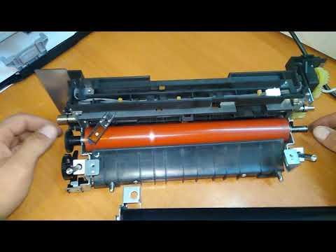 Разбор печки Kyocera ECOSYS M2540dn Застревает бумага