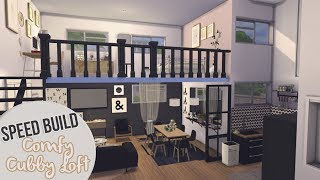 COMFY CUBBY LOFT | The Sims 4 Speed Build