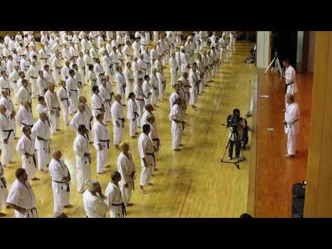 2016 IOGKF Okinawa World Budosai  - Sensei Morio Higaonna Goju-Ryu Karate do