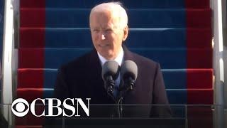 Joe Biden's inauguration address: