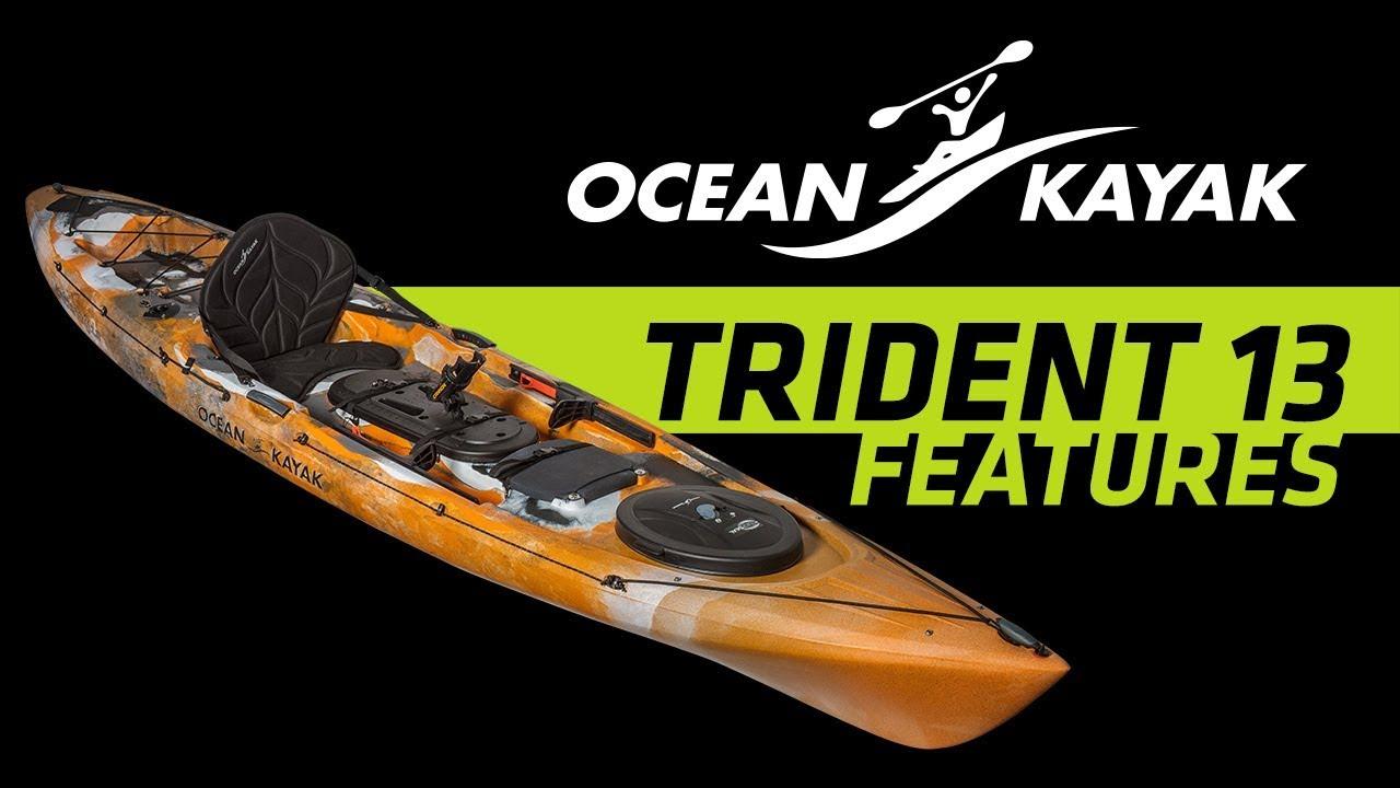 BLA - Trade Talk - Ocean Kayak - Trident 13 Angler Features