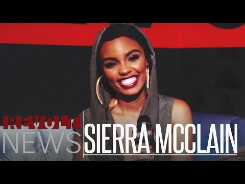 Sierra McClain exclusive on REVOLT.