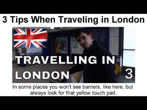 3 Tips When Traveling in London's Public Transport | Curious Pavel