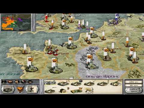 Medieval Total War. Фракция Альмохады 26-я серия Битва за Уэльс.