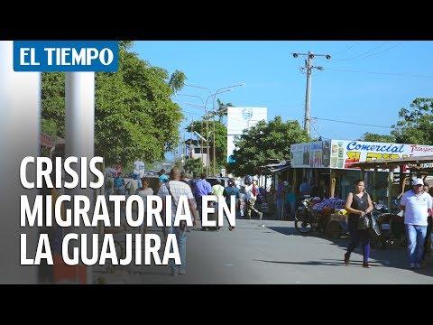 Panorama general de la migración venezolana en La Guajira   EL TIEMPO