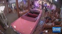Viva Las Vegas Wedding Chapel Pink Cadillac