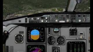 Fokker 100 Austrian Arrows LOWG to LOWI FS2004